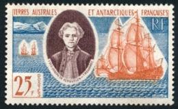 TAAF 1959 - Yv. 18 (*)   Cote= 41,00 EUR - Chevalier Y-J De Kerguelen Trémarec  ..Réf.TAF21021 - Terres Australes Et Antarctiques Françaises (TAAF)