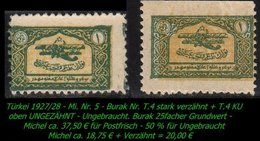 Luftfahrt - (Mi. Nr. 6) - Burak T. 4 + T 4 KU - 1921-... République