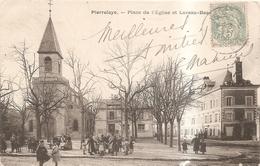 Place De L'eglise Et Leveau Beauchet - Pierrelaye