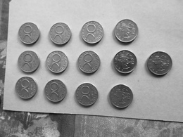 LOT 13 PIECES MONNAIE BULGARIE 20 STOTINKI ANNEE 1999 - Bulgarie