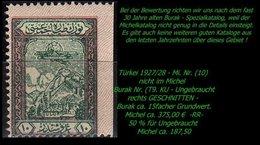 Luftfahrt - (Mi. Nr. 10) - Burak T. 9 KU -RR- - 1921-... République