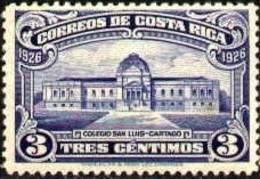 College Of San Luis, Cartago, Costa Rica Stamp SC#143 MNH - Costa Rica