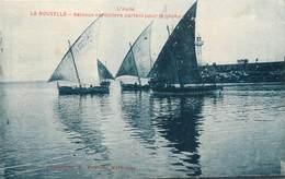 CPA 11 Aude  LA NOUVELLE Bateaux Sardiniers Partant Pour La Pêche - Port La Nouvelle