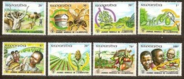 Rwanda Ruanda 1982 Yvertn°  1094-1101  *** MNH Cote 7,00 Euro   Flora Et Fauna - 1980-89: Neufs