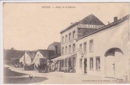 BELGIQUE VRESSE Hôtel De La Semois ,façade Avec Terrasse ,attelage Chevaux Avec Calèche - Vresse-sur-Semois