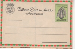 """Portugal Province Mozambique 1964 """"Peanut"""", """"Pear Avocado"""" Aerogramme, Air Letter. H&G F31 MINT XII - Mozambique"""