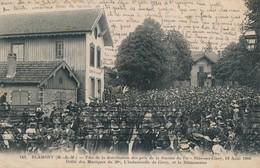 I69 - 54 - BLAMONT - Meurthe-et-Moselle - Fête De La Distribution Des Prix De La Société De Tir - 1906 - Blamont