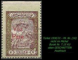 Luftfahrt - (Mi. Nr. 16) - Burak T. 15 KU - 1921-... Republik