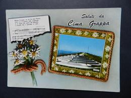 19896) TREVISO SALUTI CIMA GRAPPA VIAGGIATA - Treviso