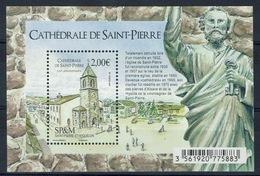 Saint Pierre And Miquelon, St Pierre Cathedral, Saint Pierre, 2017, MNH VF - Unused Stamps