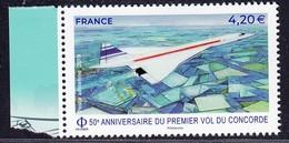 2019 50ème Anniversaire Du 1er Vol Du Concorde. Tiré Du Feuillet ** - Poste Aérienne