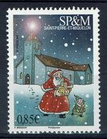 Saint Pierre And Miquelon, Christmas, Father Christmas, 2017, MNH VF - St.Pierre & Miquelon
