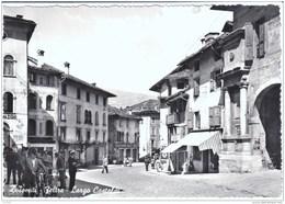 Cartolina Feltre (BL) 1950/60 Largo Castaldi - Italy