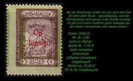 Luftfahrt - (Mi. Nr. 18) - Burak T. 18 II - 1921-... Republik