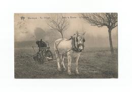 Wenduyne - Au Village.  Dans La Brume - Le Labour (1912). - Wenduine