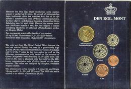 2000 Monnaies Fleur De Coin - Danemark - Danemark