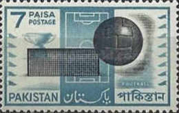 MH  STAMPS Pakistan - Ball Games  -1962 - Pakistan