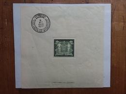 BELGIO - Expo Filatelica Anversa 1930 - BF 2 Linguellato - Con Annullo Speciale + Spedizione Raccomandata - 1915-1920 Alberto I