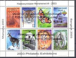 2009.  Tajikistan, World Philatelic Exhibition China'2009, Sheetlet, Mint/** - Tadschikistan