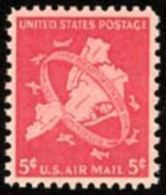 VERINIGTE STAATEN ETATS UNIS USA 1948 AIRMAIL New Yoric City  5c USED SC C38 MI 572 SG PA39 YV A957 - Poste Aérienne