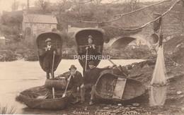 Wales  Caernarvonshire  CENARTH Coracle Fishermen Wls77 - Caernarvonshire
