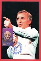 Armenien / Armenie / Armenia / Artsakh / Karabakh 2018, Charles Aznavour (1924-2018), Singer, Actor - Card Maximum - Armenië