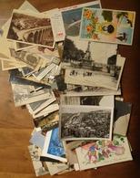 LOT De Plus De 100 CARTES POSTALES ANCIENNES, SEMI-MODERNES ET MODERNES - Cartes Postales