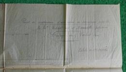 Plan Sur Calque D'une Usine De Mécanique Agricole à Crépy En Valois - Établissements Menot Frères Et Deneuville - Architecture