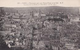 AQ16 Paris, Panorama Pris Vers Notred Dame Et La Cite - Cartas Panorámicas