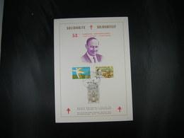 "BELG.1978 1918 1919 & 1920 FDC Fila Card (Dinant) :  ""Solidarite / Solidariteit "" - 1971-80"