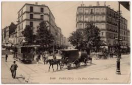 Paris (75) - La Place Cambronne - Arrondissement: 15