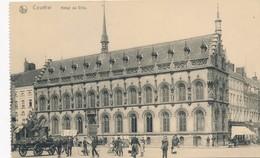 CPA - Belgique - Kortrijl - Courtrai - Hôtel De Ville - Kortrijk