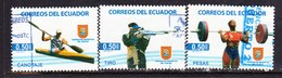 ECUADOR, USED STAMP, OBLITERÉ, SELLO USADO - Ecuador