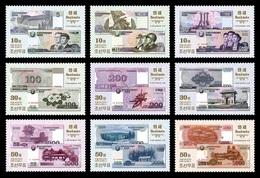 North Korea 2015 Mih. 6236/44 Banknotes MNH ** - Korea, North