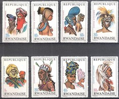 Rwanda 1969 OCBn° 301-308  *** MNH Cote 8,00 Euro - 1962-69: Neufs