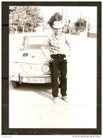 PHOTO ORIGINALE RENAULT 8 R8 R 8 GORDINI SPORT -  4 PHARES - BULGARIE - BULGARIA - Cars