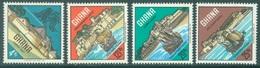 GHANA - 1967 - MNH/** - CASTLES  - Yv 274-277 - Lot 19088 - Ghana (1957-...)