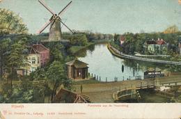 Rijswijk, Hoornbrug, Korenmolen, Windmill, Panorama - Watermolens
