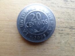 Bolivie  20 Centavos  2008  Km 203 - Bolivie