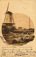 Rijswijk, Hoornbrug, Korenmolen, Windmill, Molentje - Watermolens