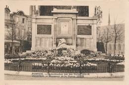 CPA - Belgique - Kortrijl - Courtrai - Monument De La Guerre 1914-18 - Kortrijk