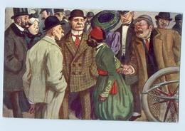Y1931/ Wiener Ringstraßen-Korso Typen Künstler AK Nr. 6 Ca.1912 - Vienne