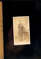 Photographie CDV : Homme Empire 1866 / Atelier  Photographe H HONORE 11 Bd Des Capucines PARIS - Persone Anonimi