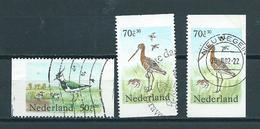 1984 Netherlands Complete Set Coil,birds,oiseaux,vögel Used/gebruikt/oblitere - Gebruikt