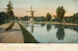 Rijswijk, Hoornbrug, Korenmolen, Windmill, Gezicht - Watermolens