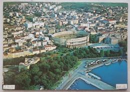 PULA / Pola - Croatia - Yugoslavia - Air View - Arena  Vg - Jugoslavia