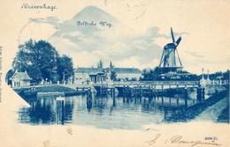 Rijswijk, Hoornbrug, Korenmolen, Windmill, Delftsche Weg - Watermolens