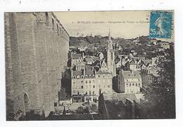 CPA 29 Morlaix Perspective Du Viaduc Et église - Morlaix