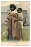Lubra And Child, River Murray, S. A., Australie, Aboriginals, Carte Postale Ancienne 1907. - Aborigènes
