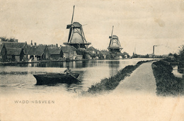 Waddinxveen, Bijenkorf, Oranjeboom, Papiermolen, Windmills - Watermolens